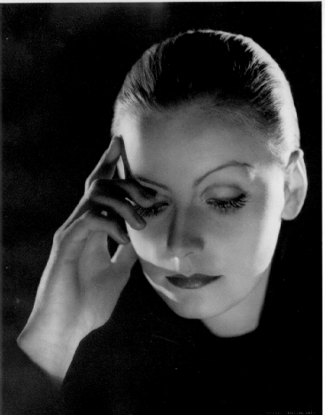 "Greta Garbo by C.S. Bull, a 1932 photo for ""Marta Hari."""