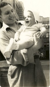 With My Father in the Albany Park Neighborhood of Chicago