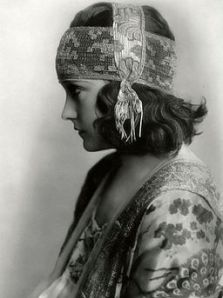 "A Frame or Production Still Photo of Gloria Swanson in the 1919 Movie ""Don't Change Your Husbanda frame or production still of Gloria Swanson in the 1919 movie ""Don't Change Your Husband"""
