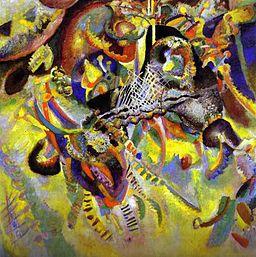 """Fugue"" by Kandinsky, 1914"