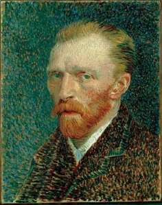 Self-portrait, Van Gogh, 1887