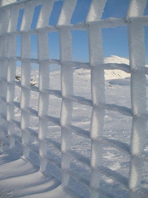 Meall_Ghaordaidh_behind_bars_-_geograph.org.uk_-_1063702