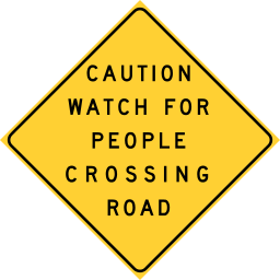 256px-Caltrans_CAUTION_PEOPLE_CROSSING.svg