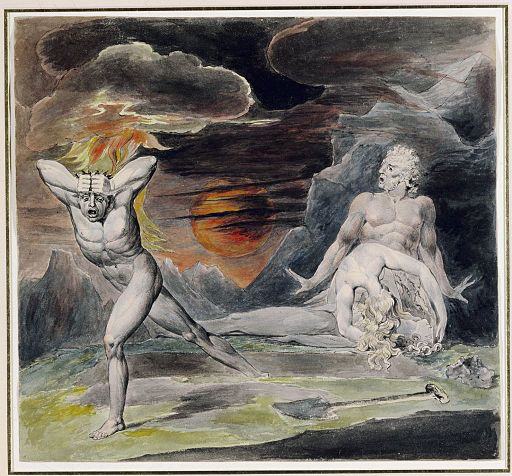 512px-Blake_Cain_Fleeing_from_the_Wrath_of_God_(The_Body_of_Abel_Found_by_Adam_and_Eve)_c1805-1809